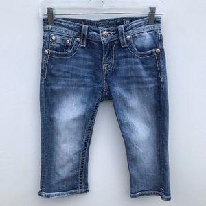 Miss Me Girls Capri Jeans #1793